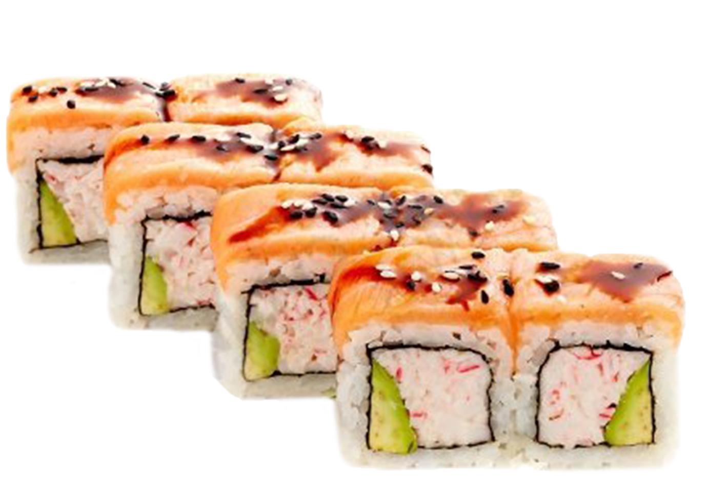 Запеченные суши в Суши Вок